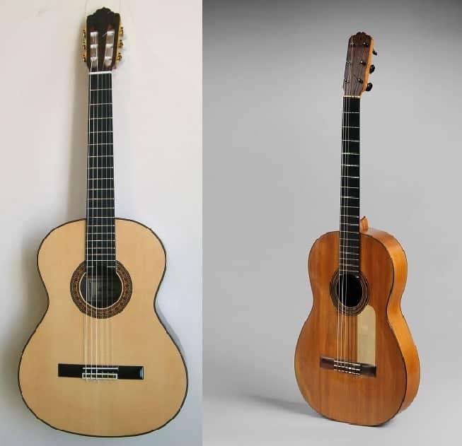 Classical Vs Flamenco Guitar