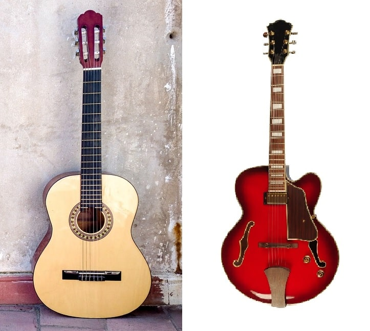 Classical_Guitar_Vs_Jazz_Guitar