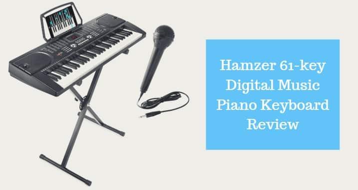 Hamzer 61-key Digital Music Piano Keyboard Review