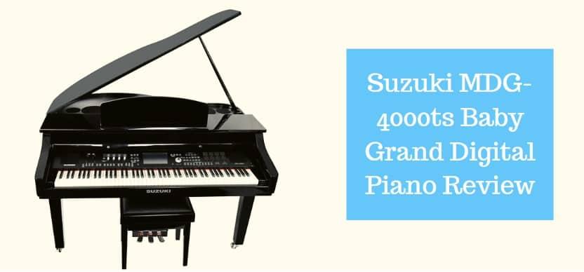 Suzuki MDG-4000ts Baby Grand Digital Piano Review