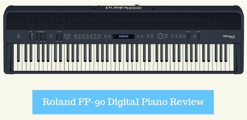 Roland FP-90 Digital Piano Review