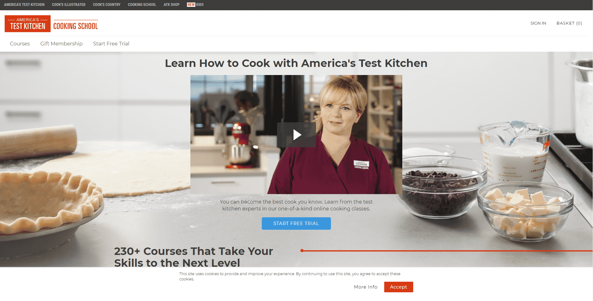 American Test Kitchen Learn Cooking Lessons Online