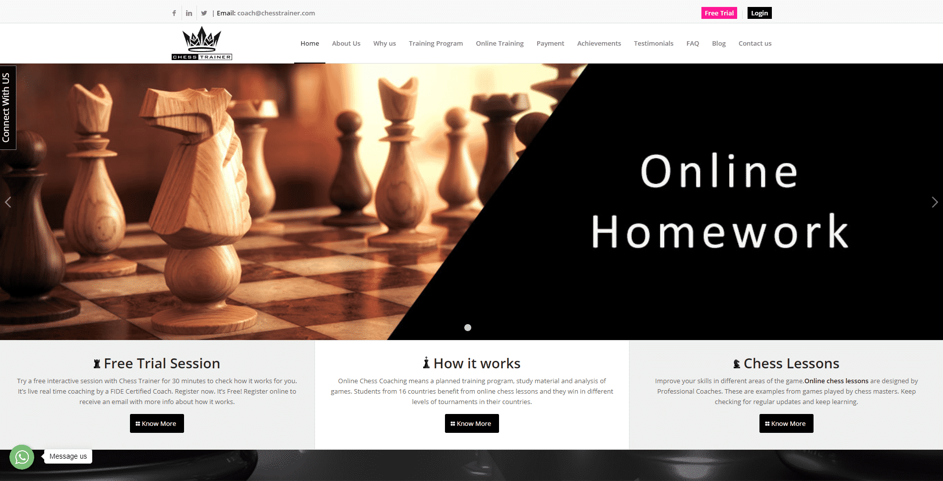 Chess Trainer Learn Chess Lessons Online