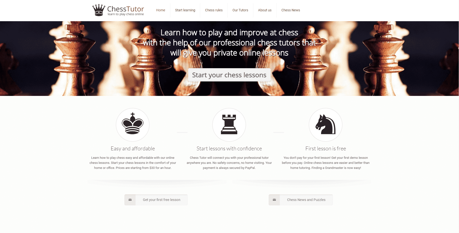 ChessTutor Learn Chess Lessons Online