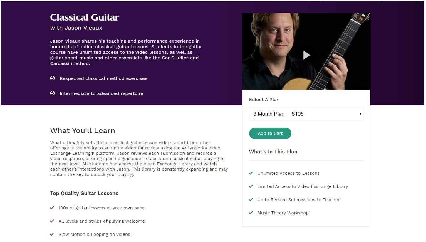 Classical Guitar with Jason Vieaux