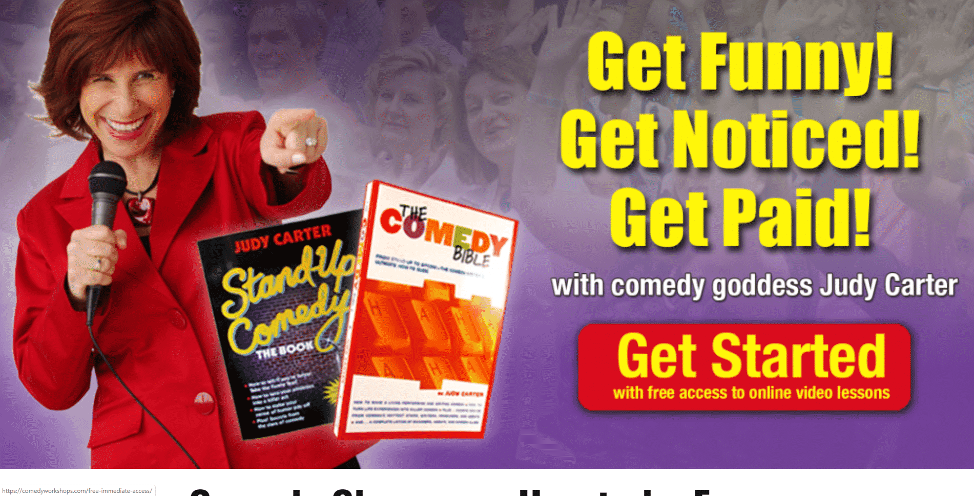 Comedy Workshop Learn Comedy Lessons Online