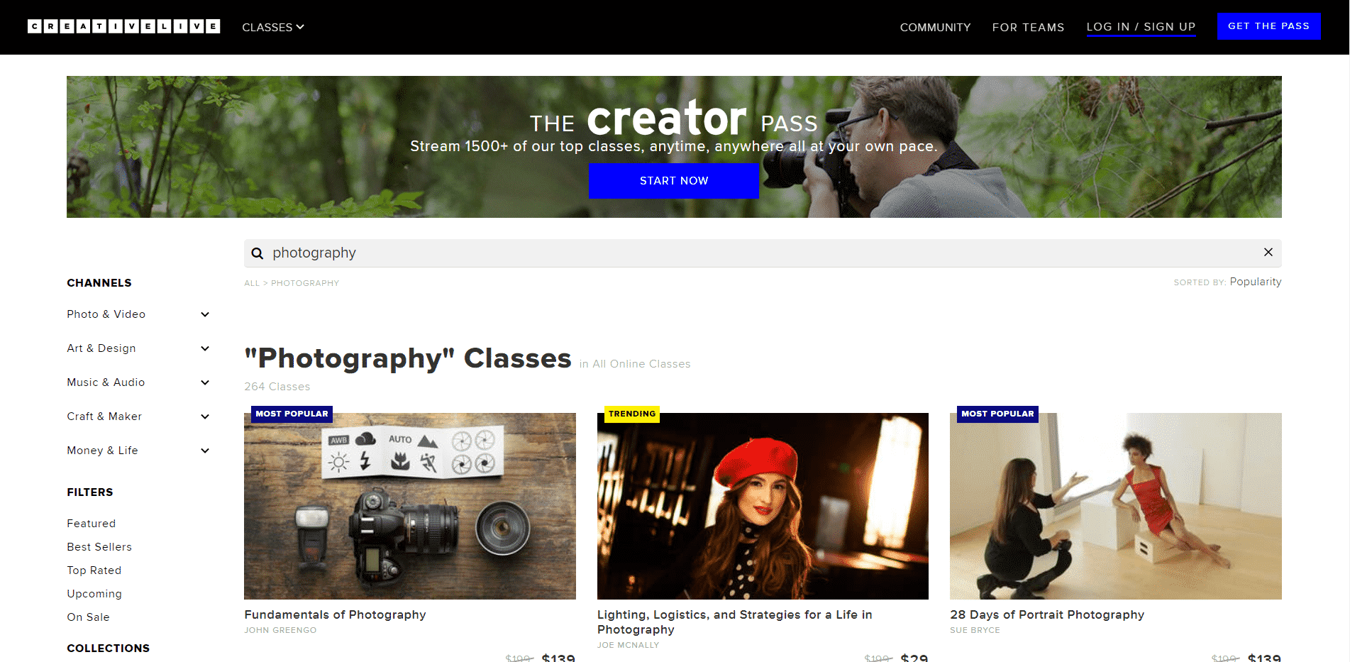 Creative Live Learn Photography Lessons Online