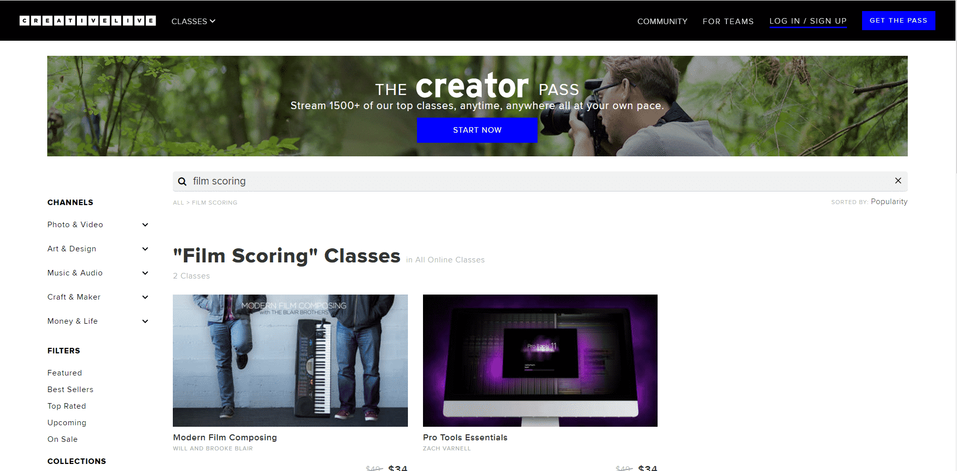 Creativelive Learn Film Scoring Lessons Online