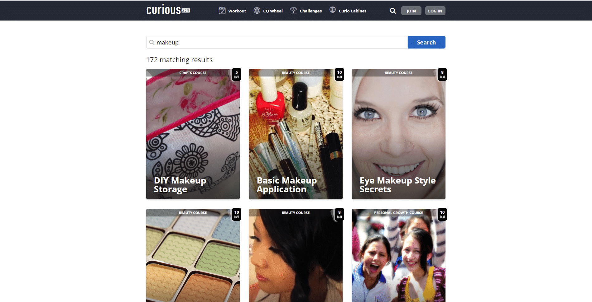 Curious Learn Makeup and Beauty Lessons Online