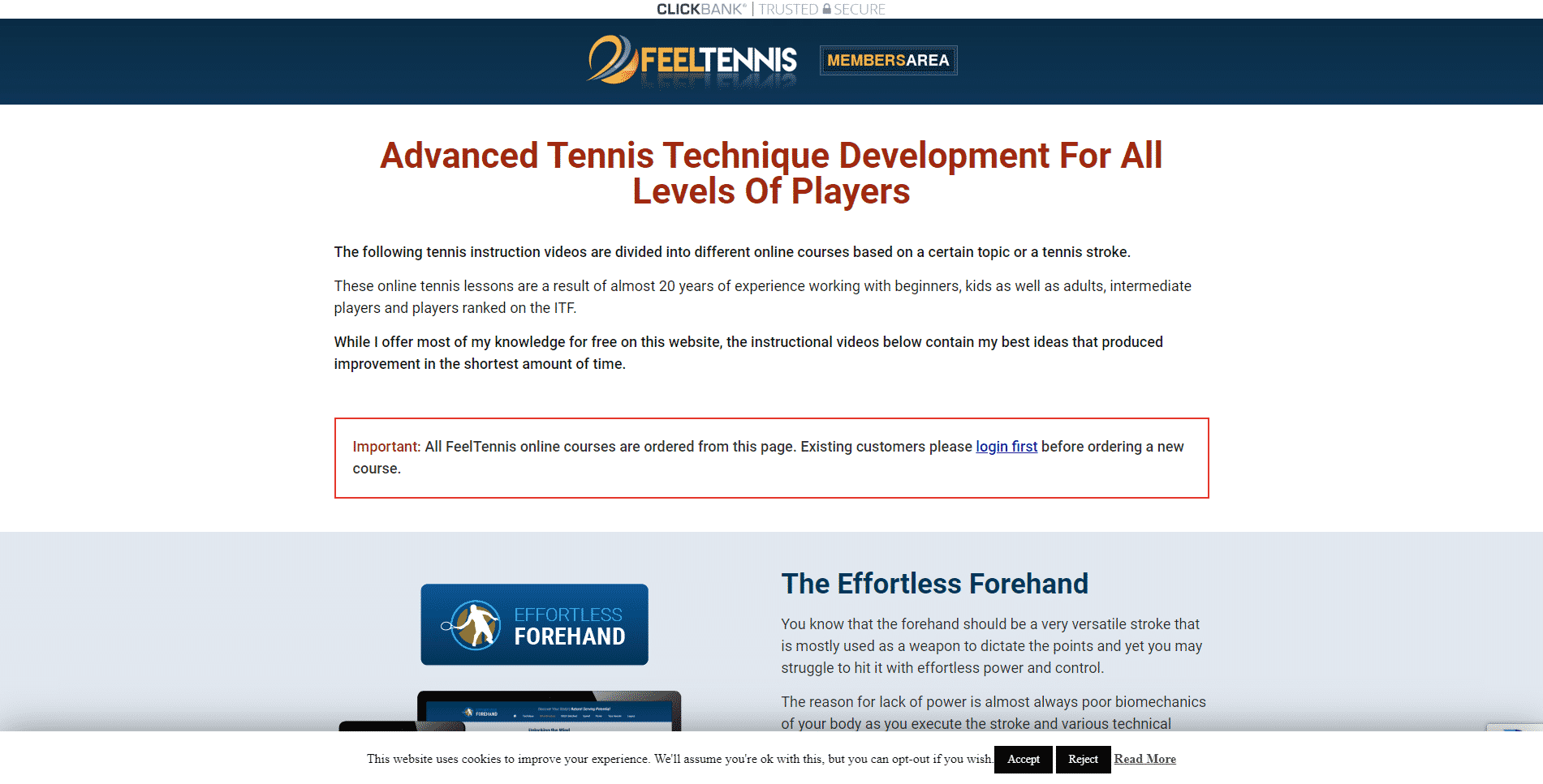 Feel Tennis – Online Tennis Lessons