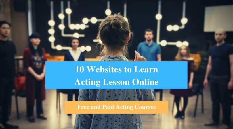 Learn Acting Lesson Online