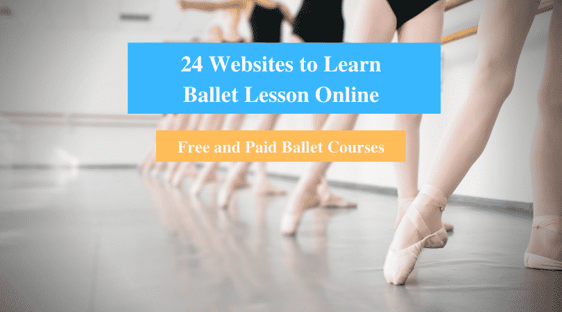 Learn Ballet Lesson Online