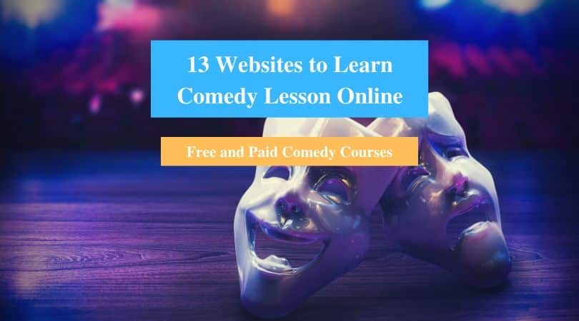Learn Comedy Lesson Online