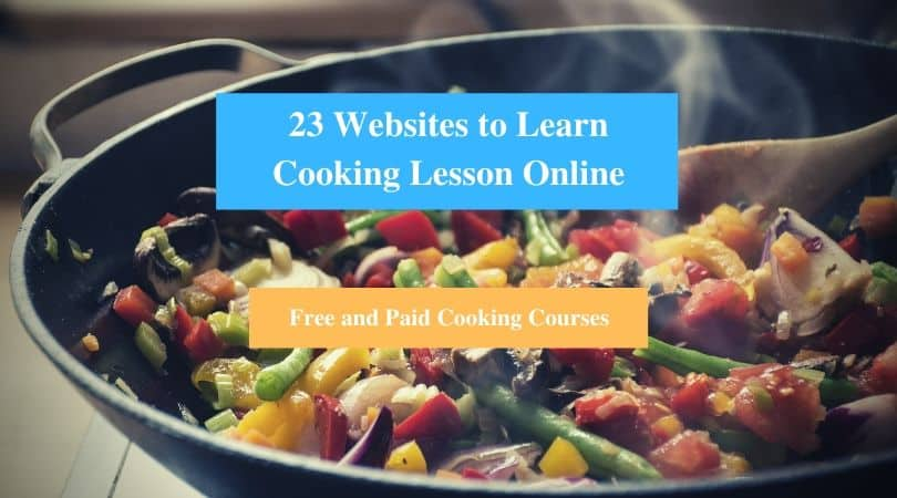 Learn Cooking Lesson Online
