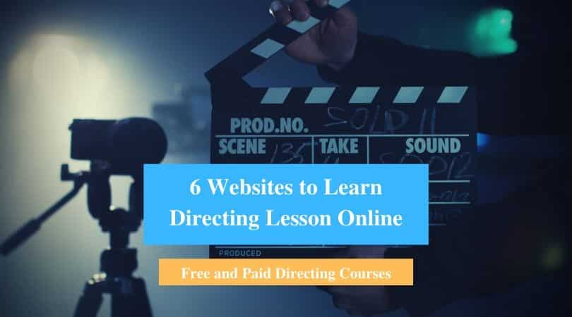 Learn Directing Lesson Online