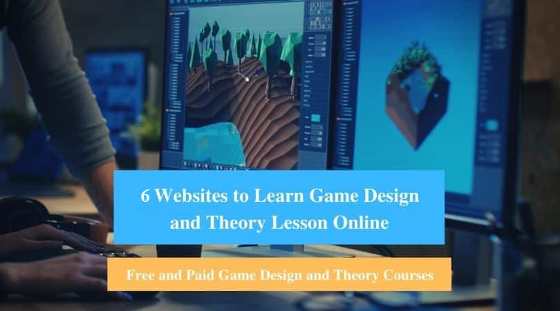 Learn Game Design and Theory Lesson Online