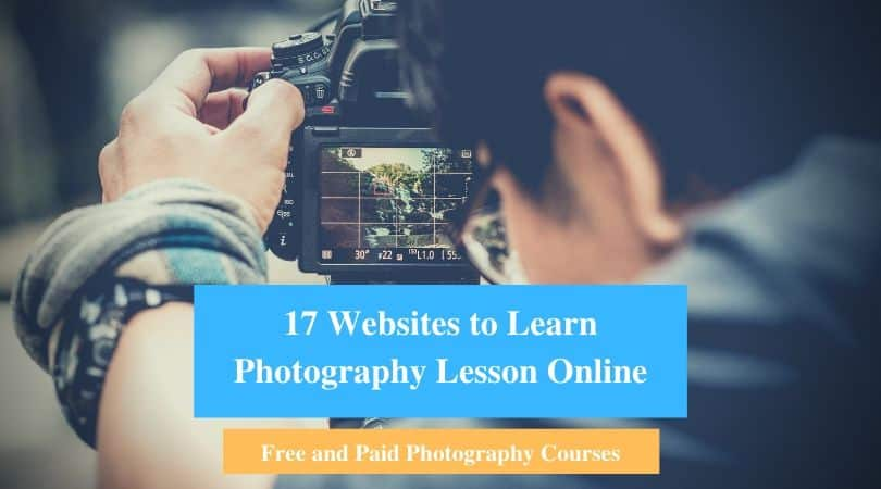 Learn Photography Lesson Online
