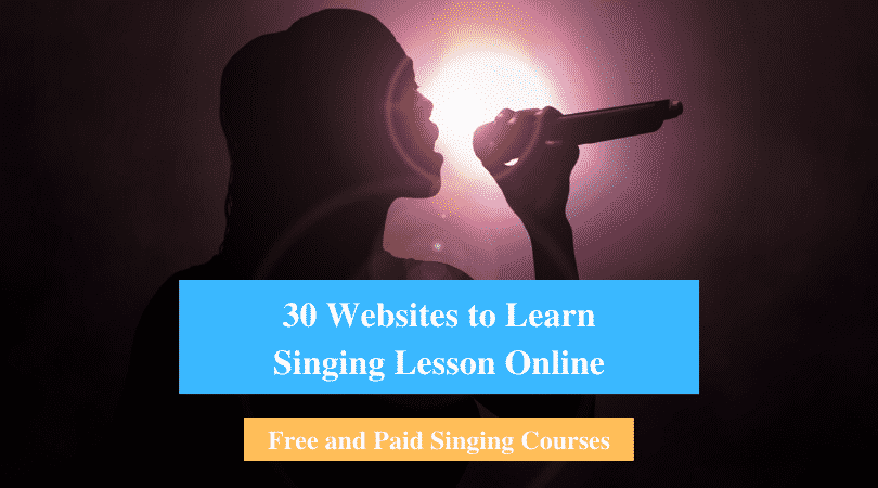 Learn Singing Lesson Online
