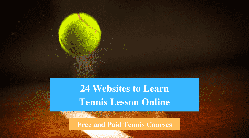 Learn Tennis Lesson Online
