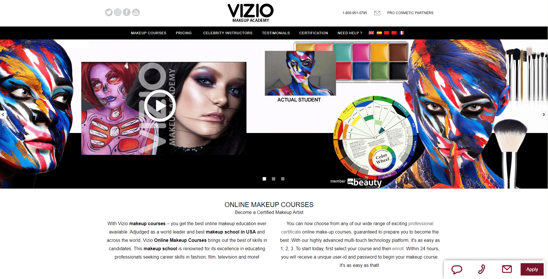 Makeup Online School Learn Makeup and Beauty Lessons Online