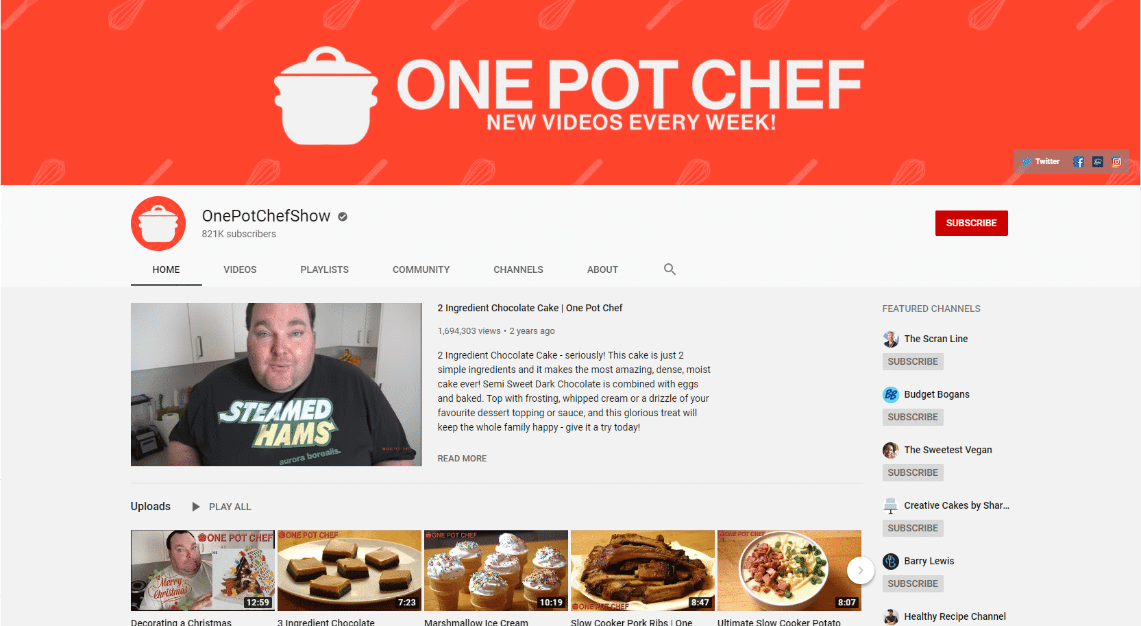 One Pot Chef Learn Cooking Lessons Online