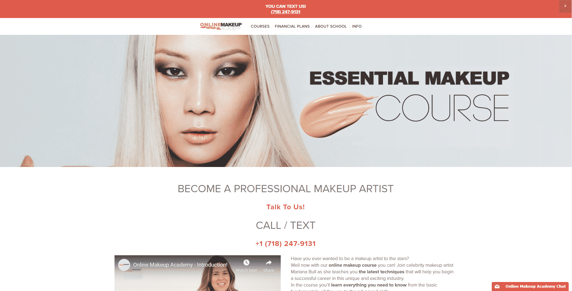 Online Makeup Academy Learn Makeup and Beauty Lessons Online