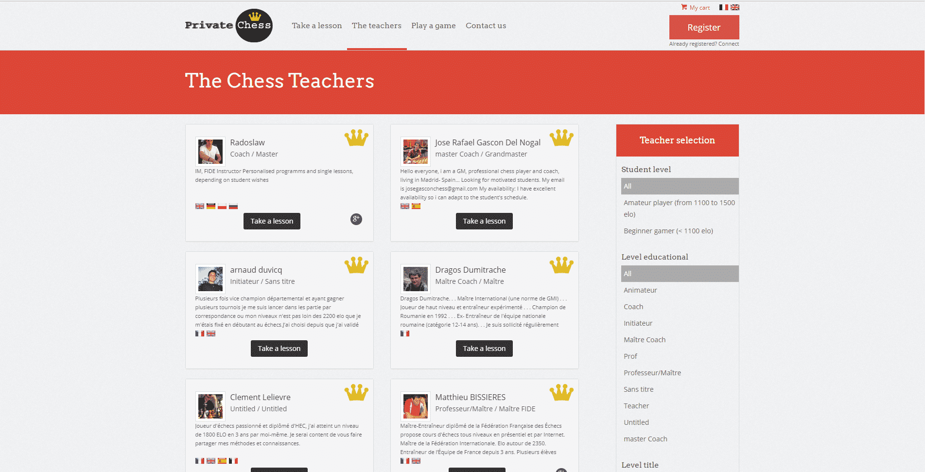 PrivateChess Learn Chess Lessons Online
