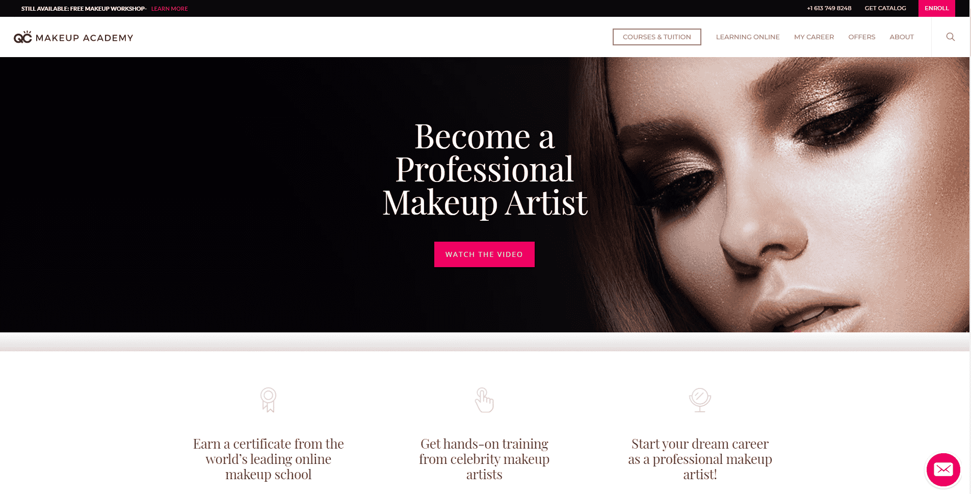 QC Makeup Academy Learn Makeup and Beauty Lessons Online