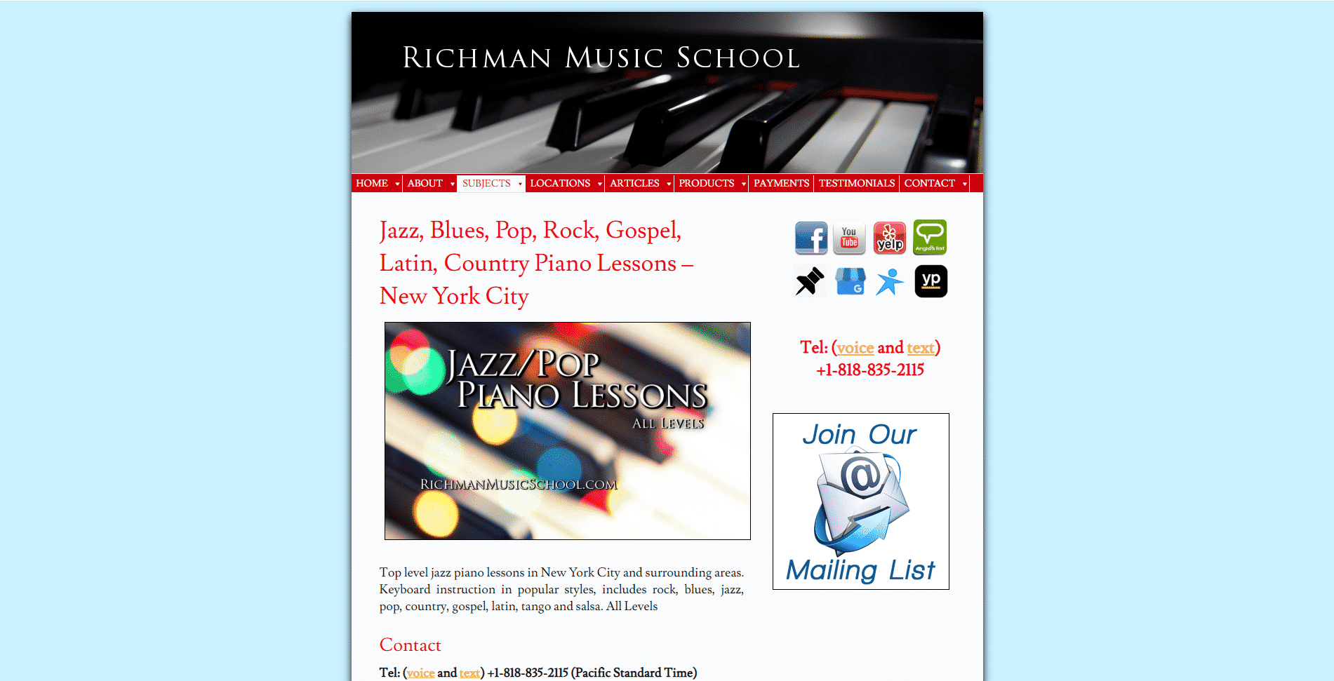 Richman Music School
