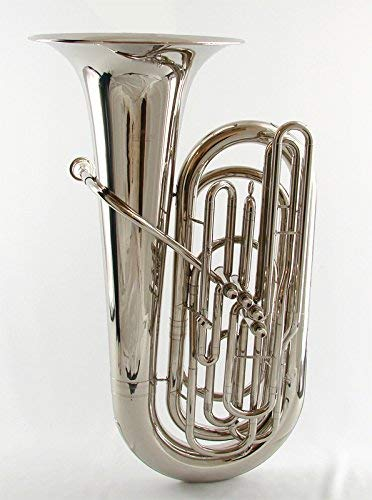 Schiller American Heritage 4-Valve Piston Tuba Nickel Finish