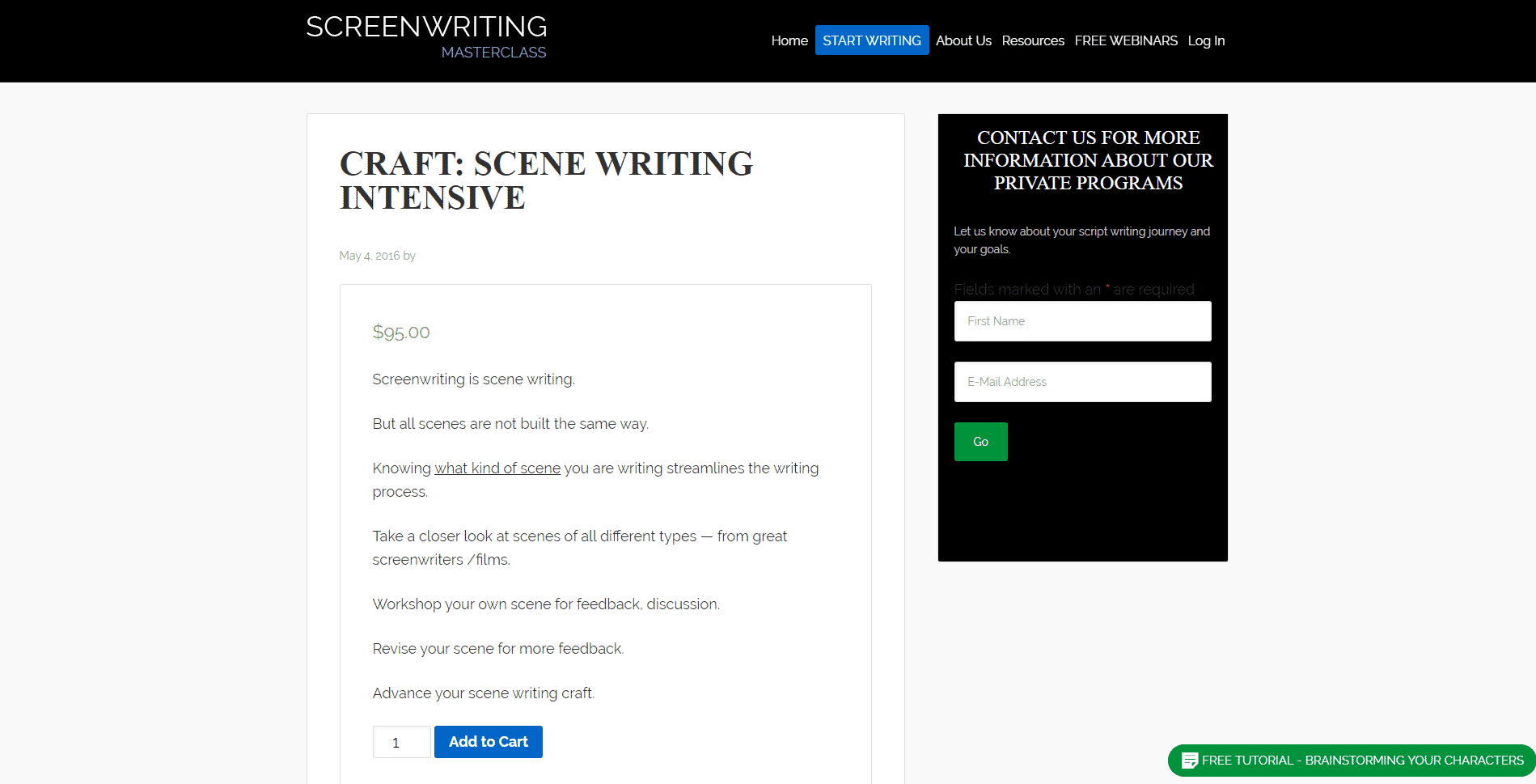 Screenwriting Masterclass Learn Screenwriting Lessons Online