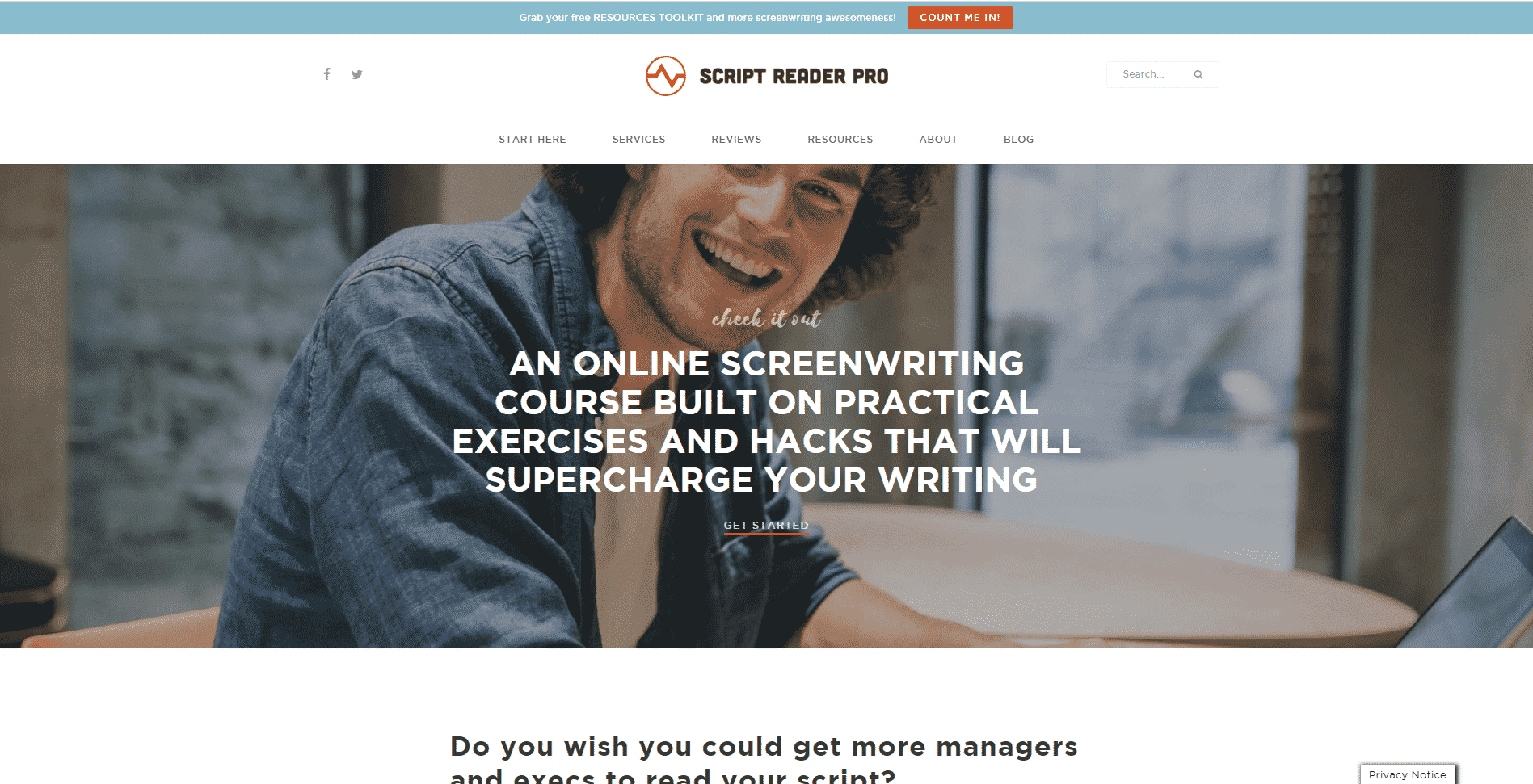 Scriptreaderpro Learn Screenwriting Lessons Online