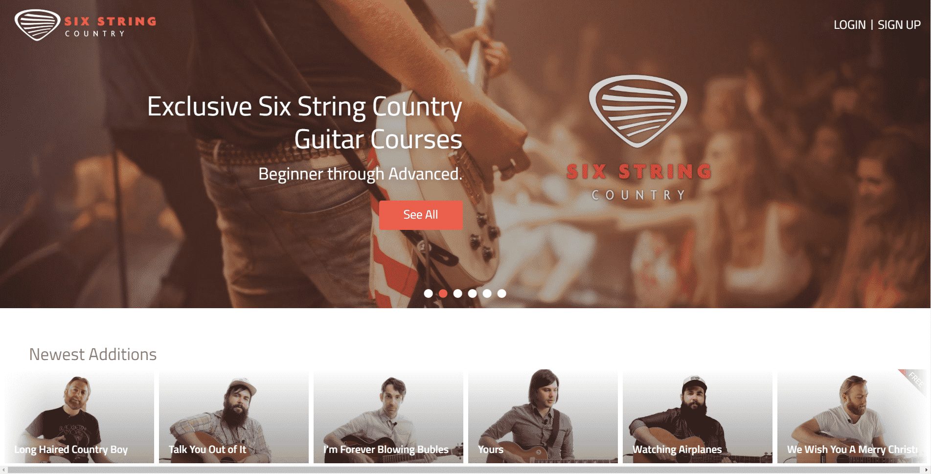 Six String Country Music Lessons