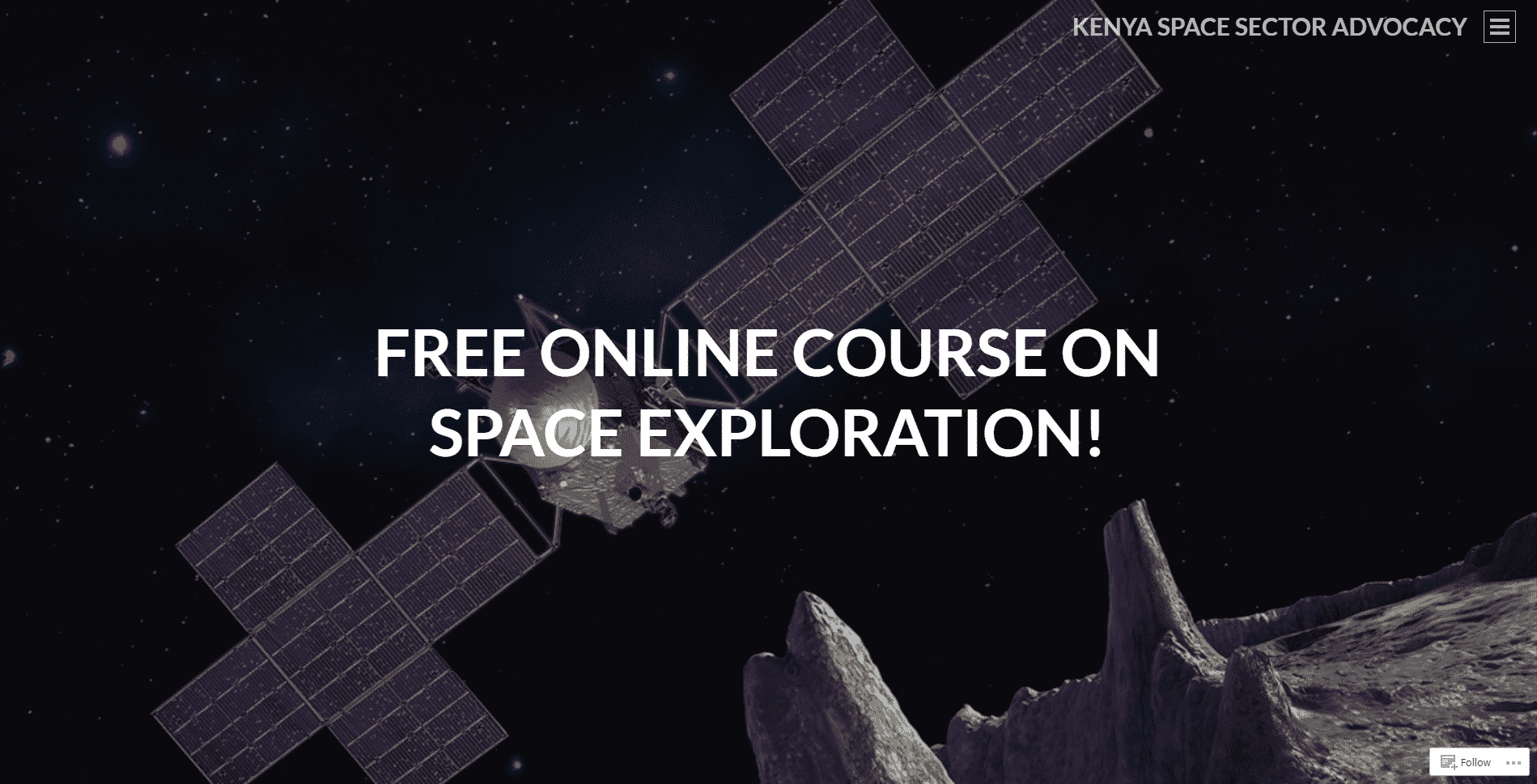 Spacekenya Learn Space Exploration Lessons Online