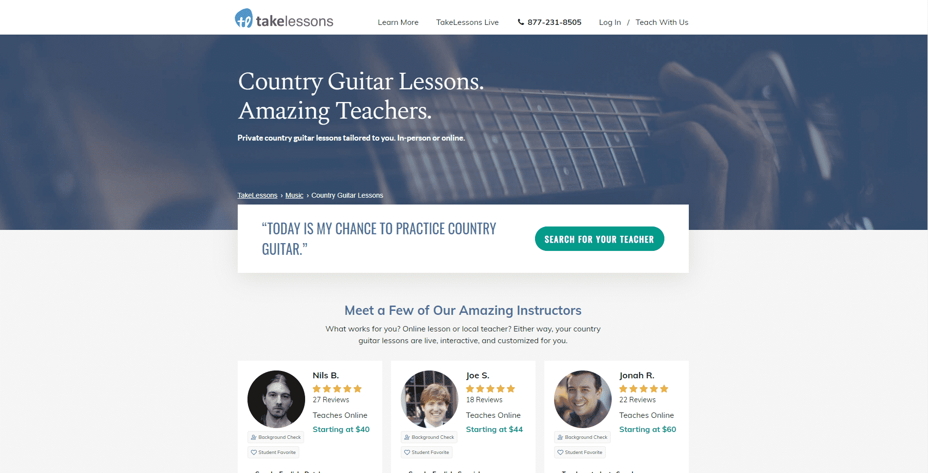 Takelessons.com – Online Country Music Lessons