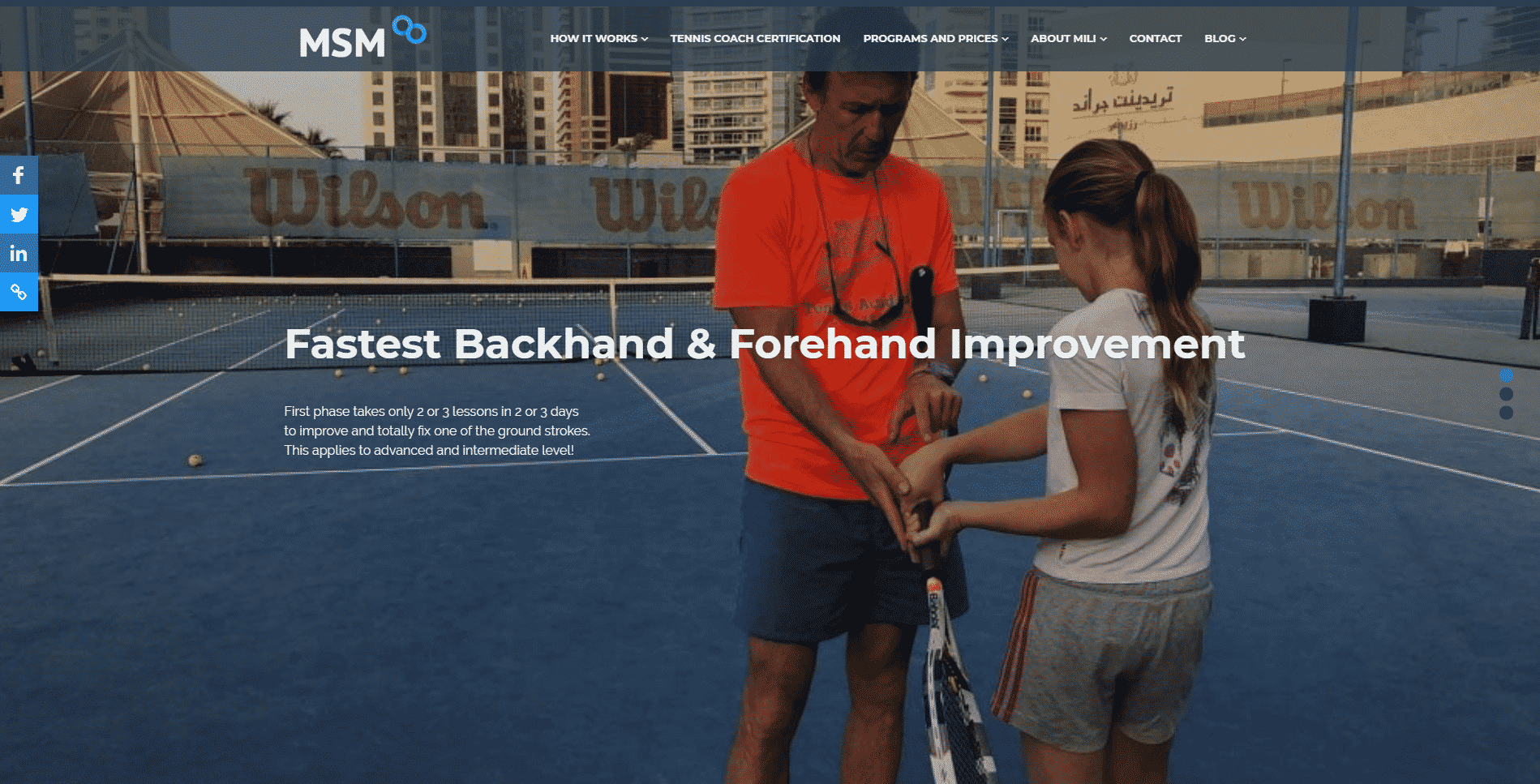 Tennis Methods – Online Course