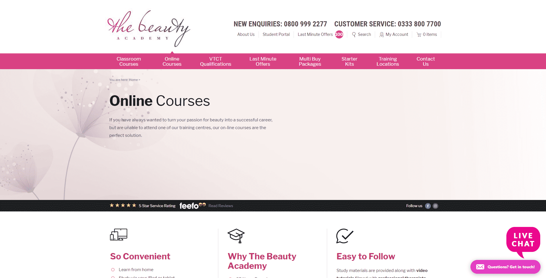 The Beauty Academy Learn Makeup and Beauty Lessons Online