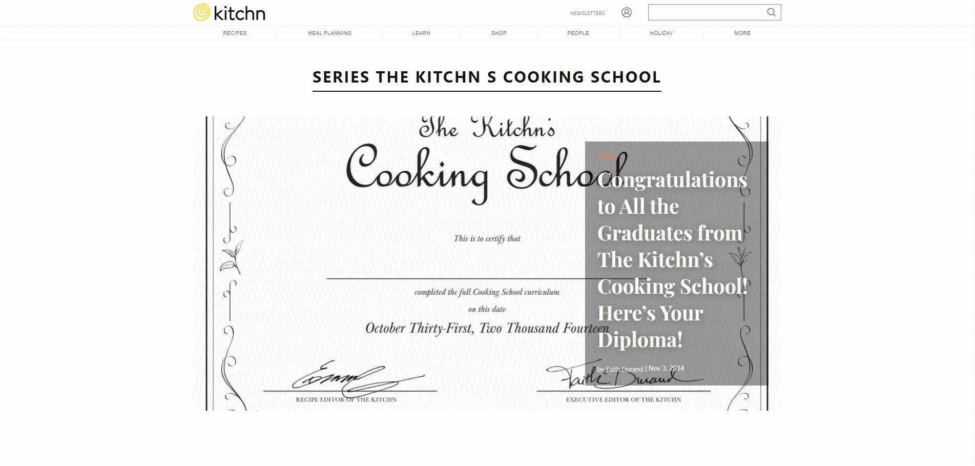 The Kitchn Cooking School Learn Cooking Lessons Online