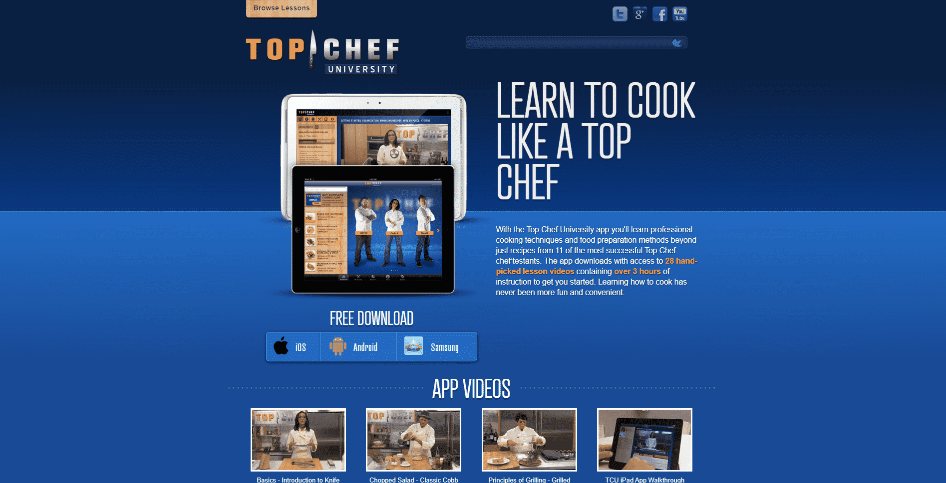 Top Chef University Learn Cooking Lessons Online