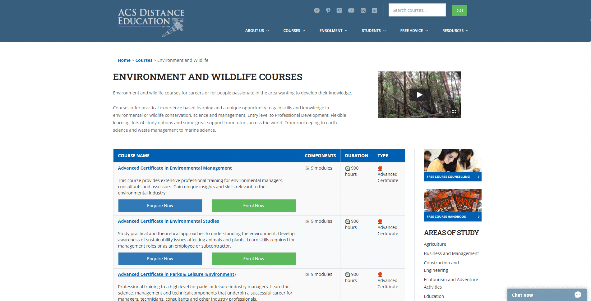 ACS Learn Conservation Lessons Online