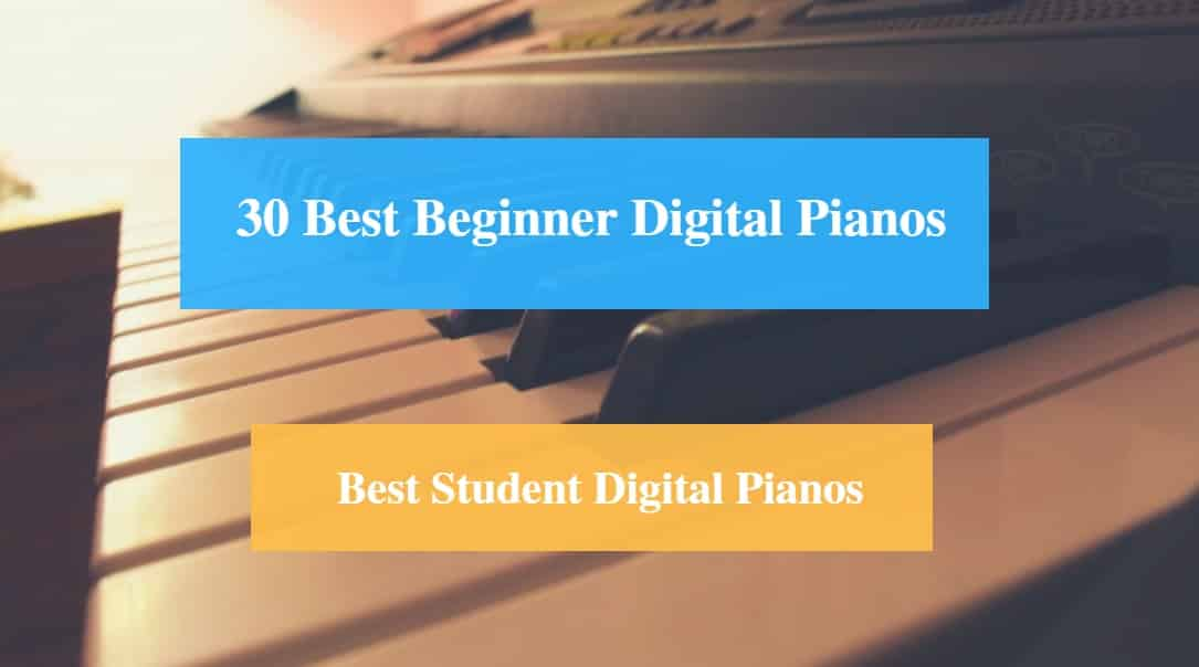 30 Best Digital Pianos For Beginner Reviews 2021 Best Student Digital Piano Cmuse