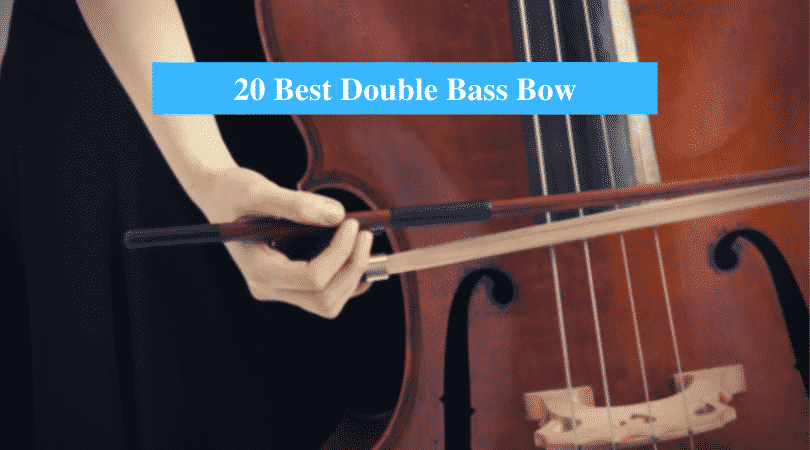 3//4 upright double bass bow German bow Brazilwood Natural Bow Hair Straight