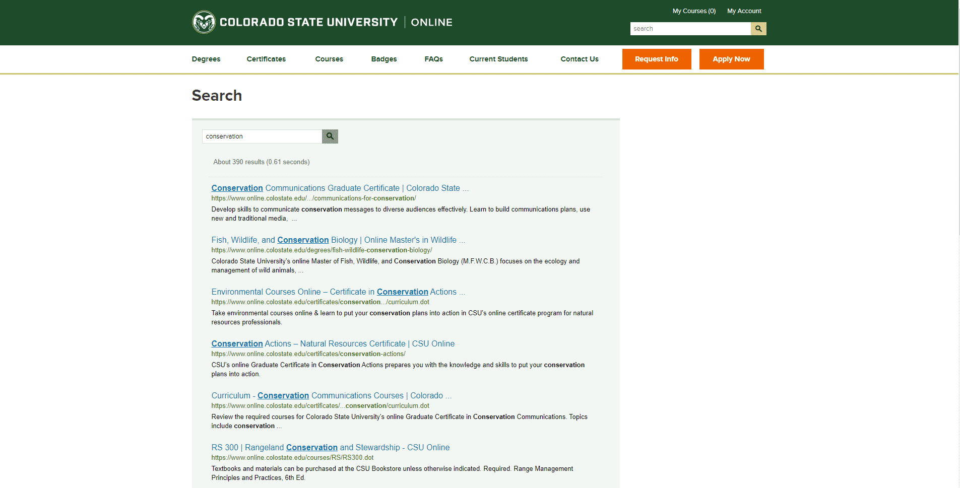 Colorado State University Learn Conservation Lessons Online