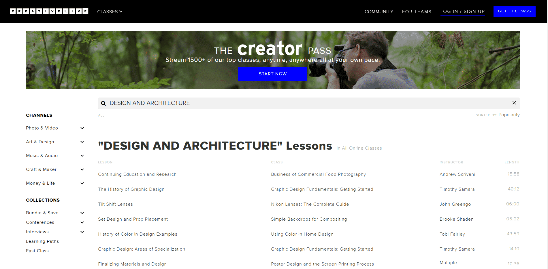 Creativelive Learn Design and Architecture Lessons Online