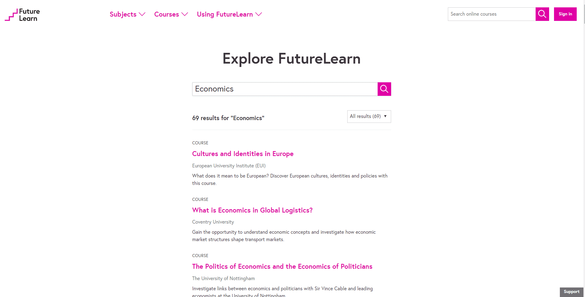 Future Learn Learn Economic Lessons Online