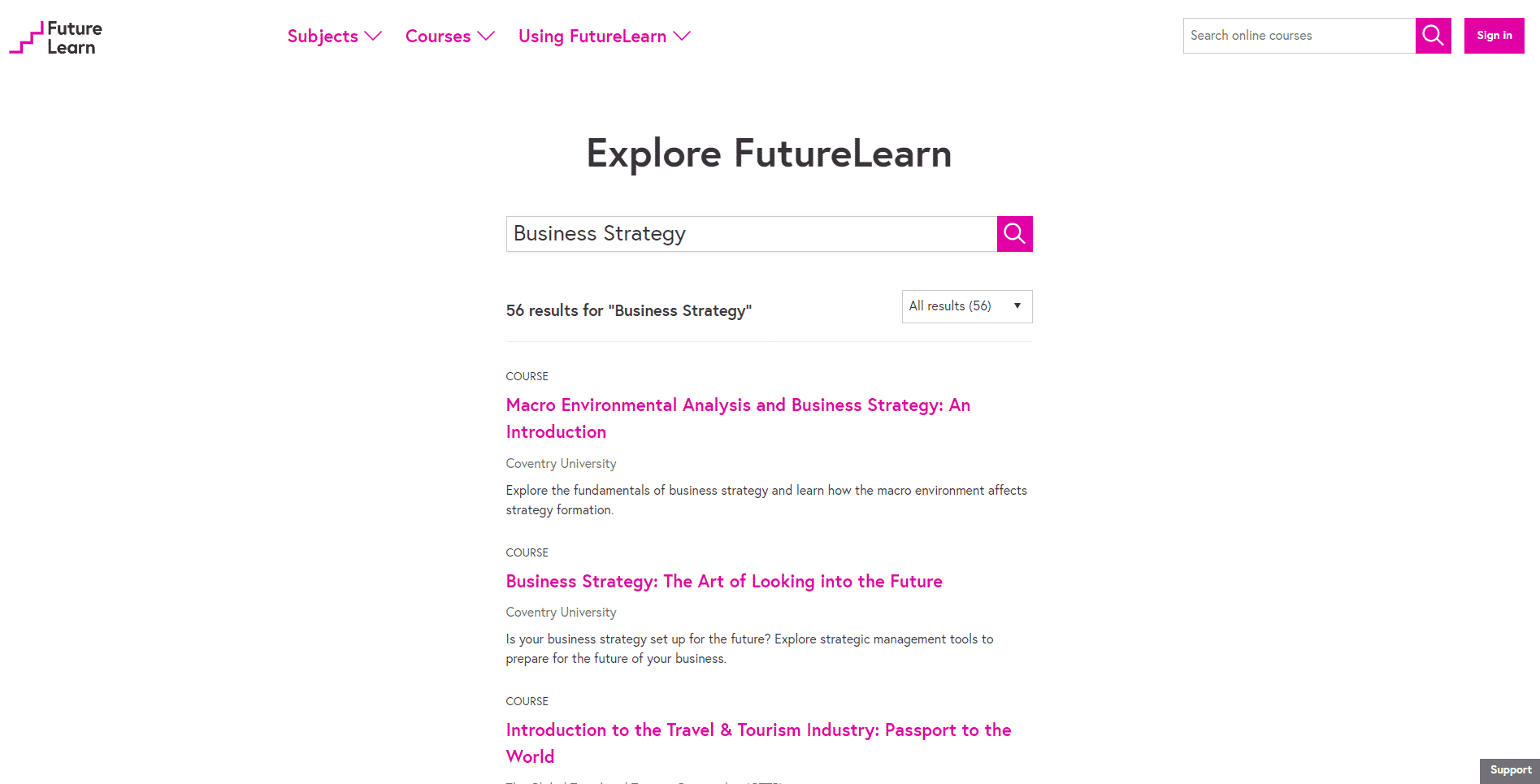 Futurelearn Learn Business Strategy Lessons Online