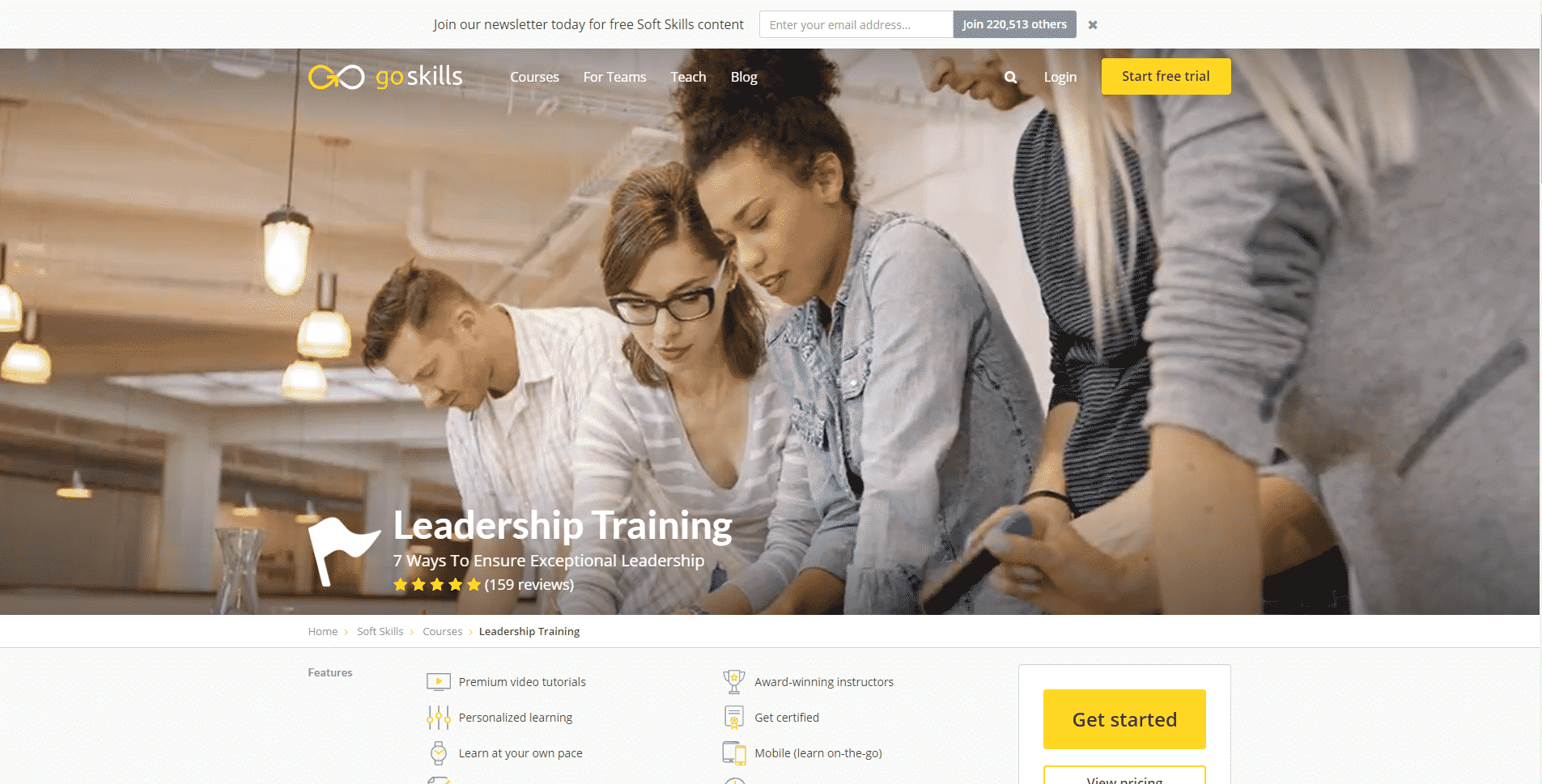 Goskills Learn Leadership Lessons Online
