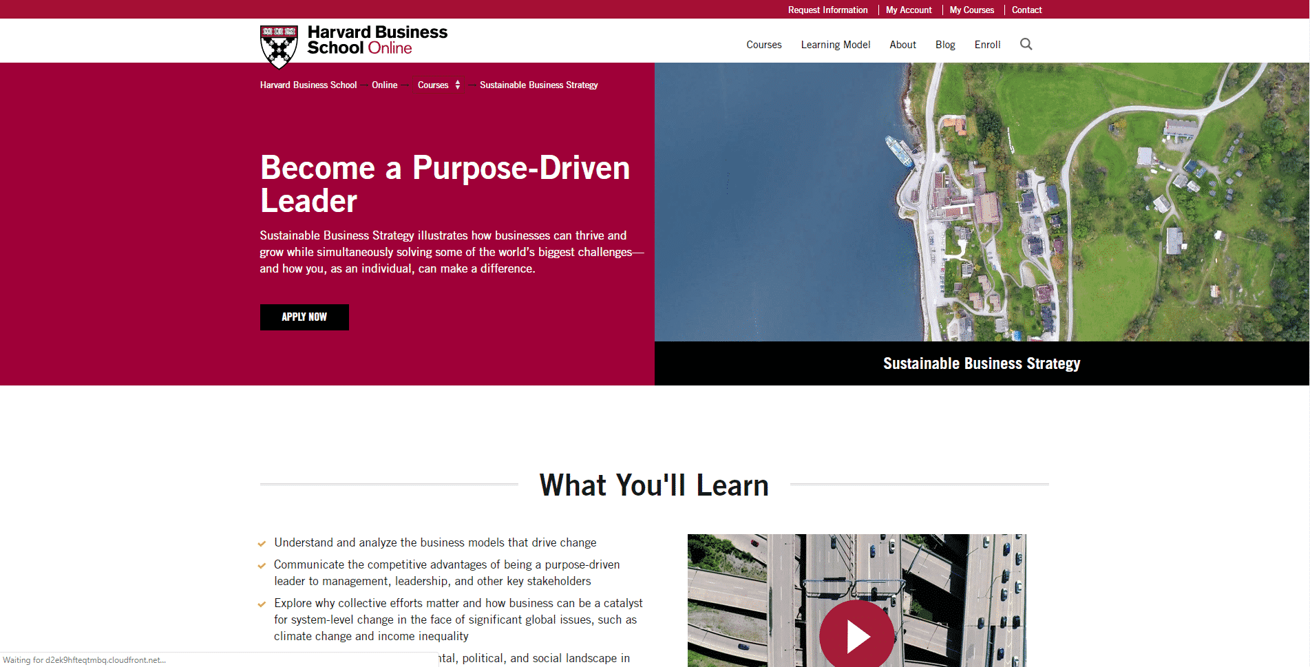 HBS Education Learn Business Strategy Lessons Online