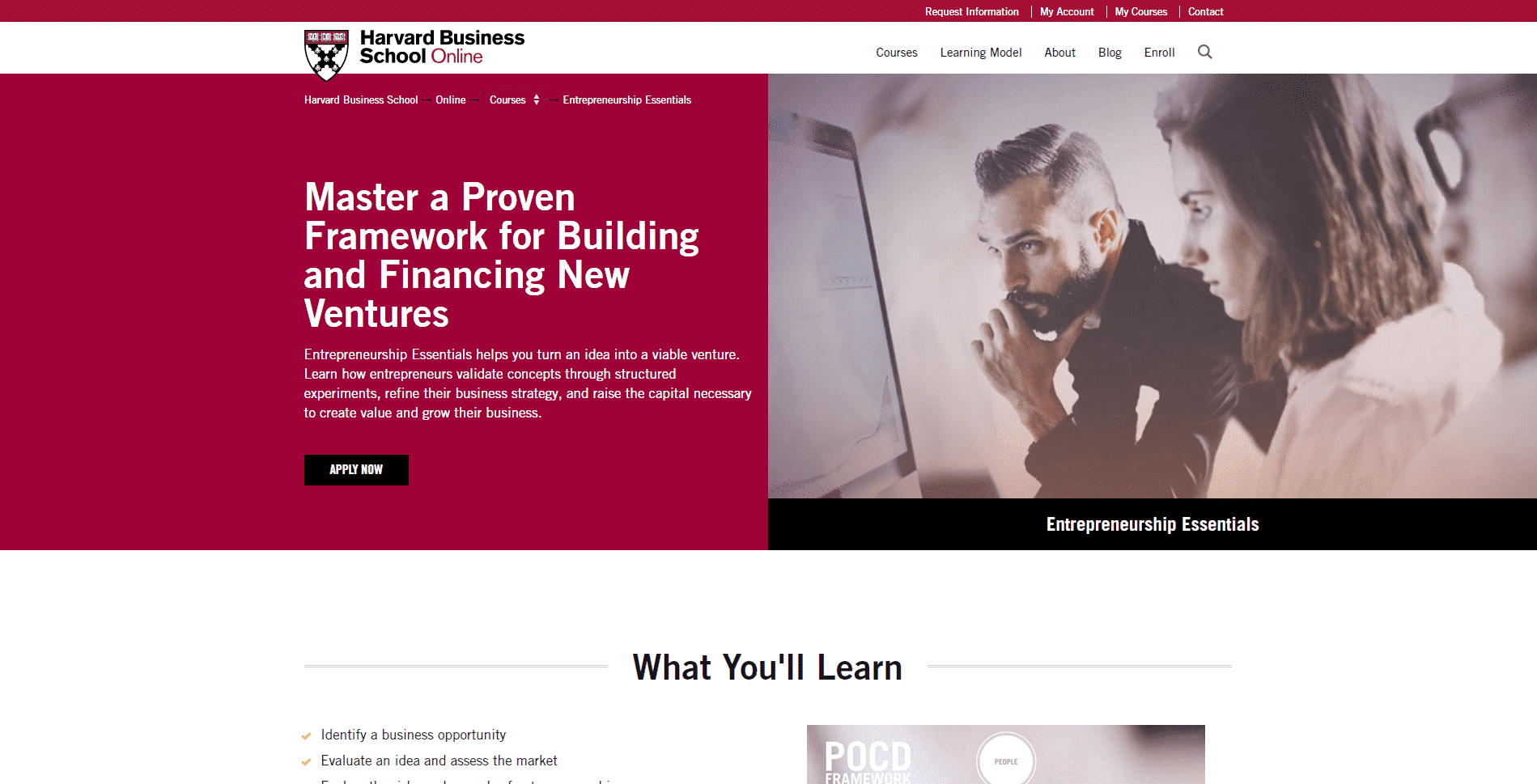 Harvard Business School Learn Entrepreneurship Lessons Online