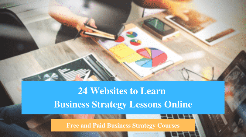 Learn Business Strategy Lessons Online